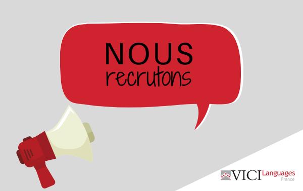 Recrutement Vici Languages France